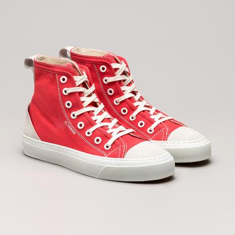 Canvas Sneakers V1 // Geranium (Euro: 36)