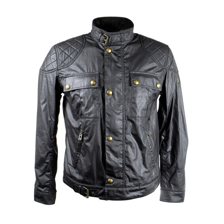 Brookstone Waxed Cotton Jacket // Black (Euro: 44)