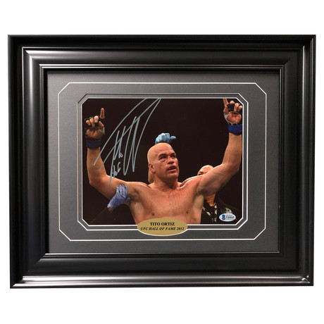 Tito Ortiz // Autographed + Framed Photo