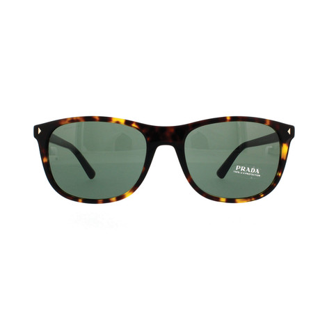 Prada // Women's Sunglasses // Havana + Gray Green