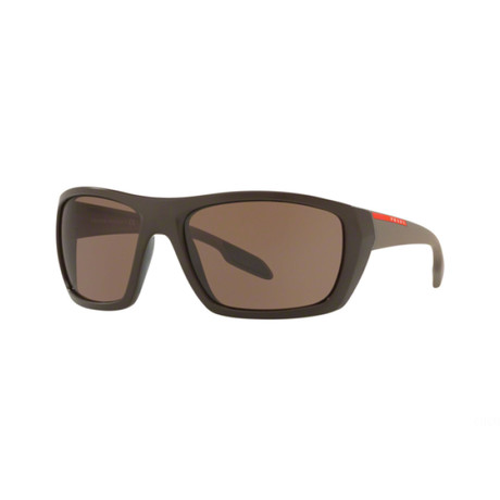 Prada // Men's Sunglasses // Brown
