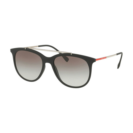 Prada // Men's Sunglasses // Black + Gray Gradient