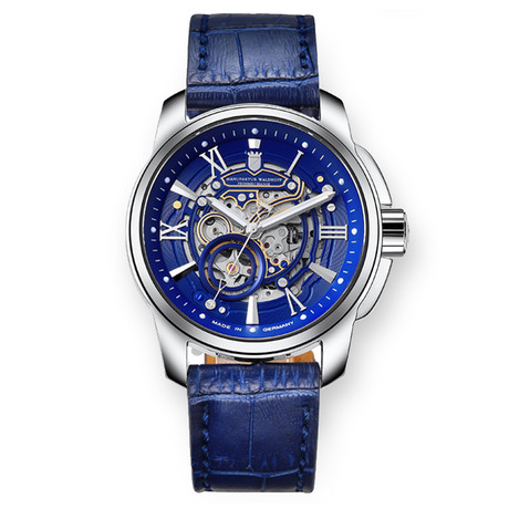 Waldhoff Republic Royal Blue Automatic // 04B