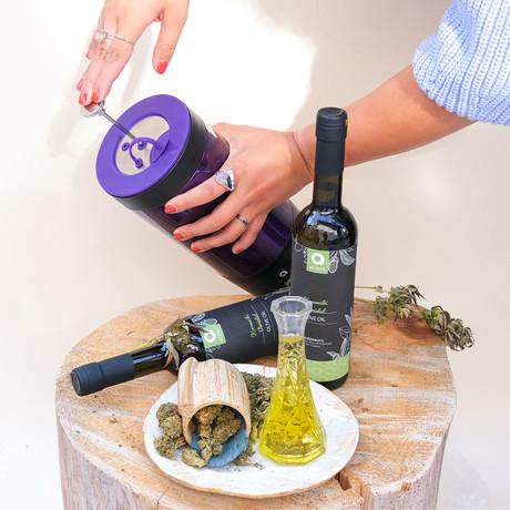 Infusion Press + Estate Extra Virgin Olive Oil Bundle
