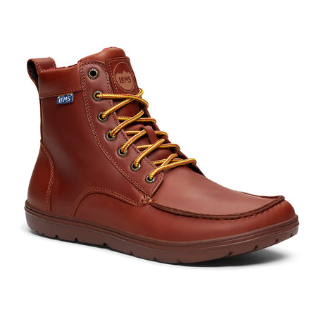 Boulder Boot // Leather Russet (Size M3.5/W5)