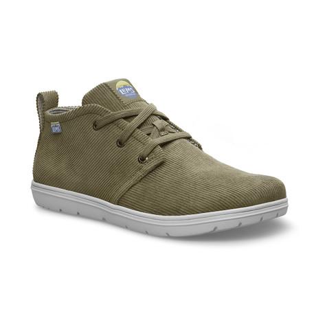 Corduroy Chukka Boot // Green Kush (Size M3.5/W5)