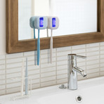UVNIA UV-C Toothbrush Sterilizer // White
