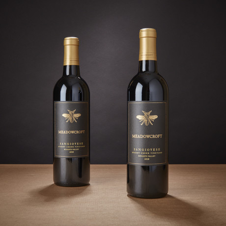 92 Point Meadowcroft Sangiovese // Set of 2