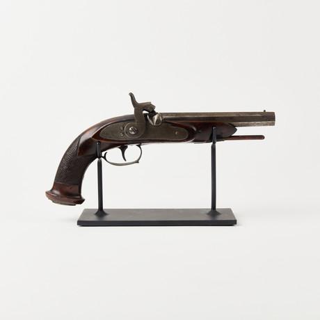 Early Belgian Octagonal Barrel Pistol // Mid 1800's
