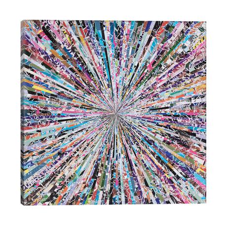 """Chaotic Tendencies // Benjamin Phillips (26""""W x 26""""H x 1.5""""D)"""