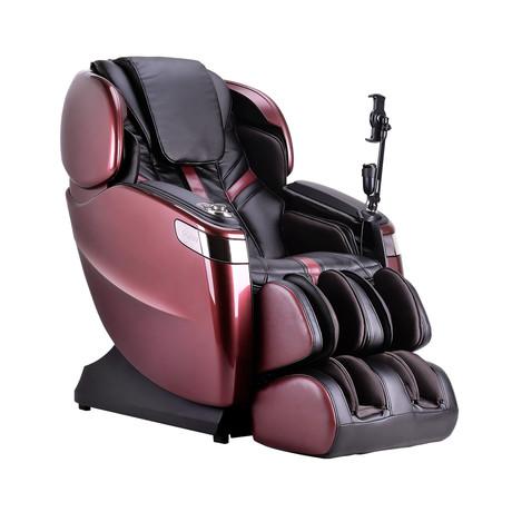 Ogawa Master Drive AI Massage Chair 8800 + Tablet // Red + Black