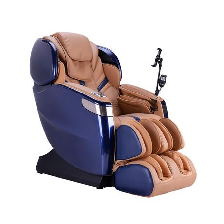 Ogawa Master Drive AI Massage Chair 8800 + Tablet // Blue + Sand