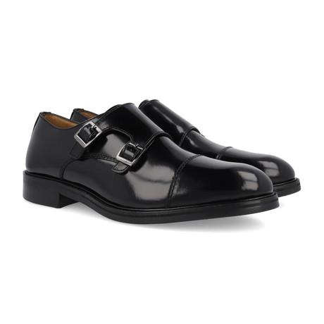 Antarca Leather Monkstrap // Black (Euro: 39)