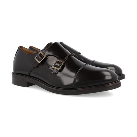 Antarca Leather Monkstrap // Brown (Euro: 39)