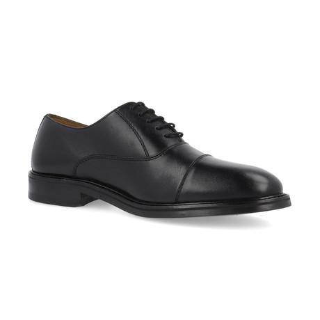 Bomer Leather Derby // Black (Euro: 39)