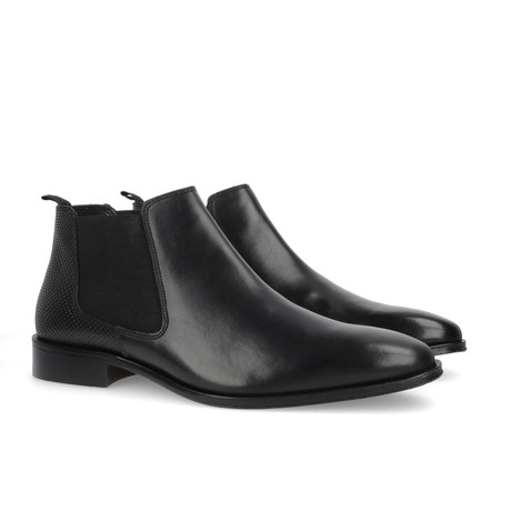 Camelus Leather Chelsea Boots // Black (Euro: 39)