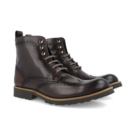 Cale Leather Boot // Brown (Euro: 39)