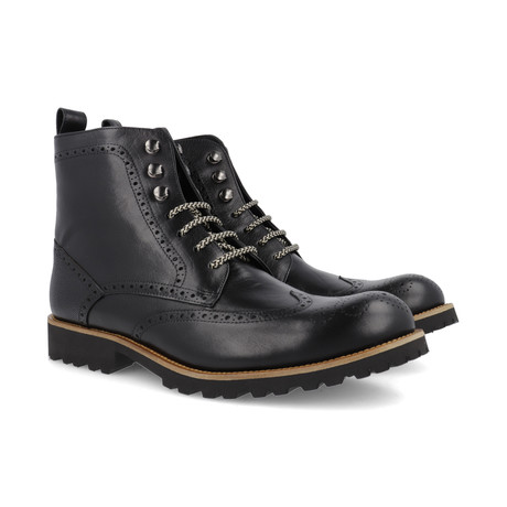 Cale Leather Boot // Black (Euro: 39)