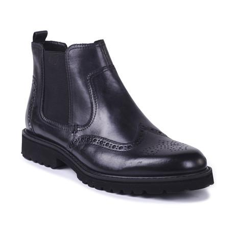 Arlene Leather Chelsea Boots // Black (Euro: 39)