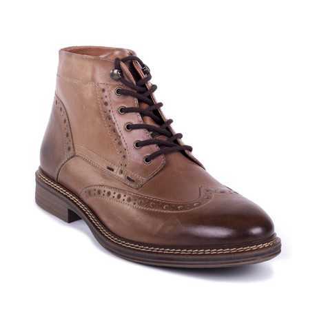 Arnie Leather Boot // Cognac (Euro: 39)