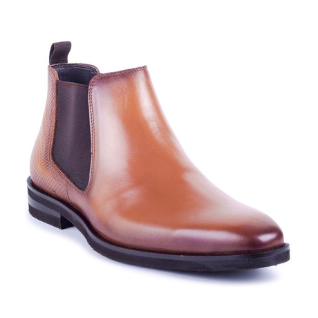Caelus Leather Chelsea Boots // Cognac (Euro: 39)