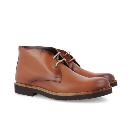 Canotas Leather Boot // Cognac (Euro: 39)