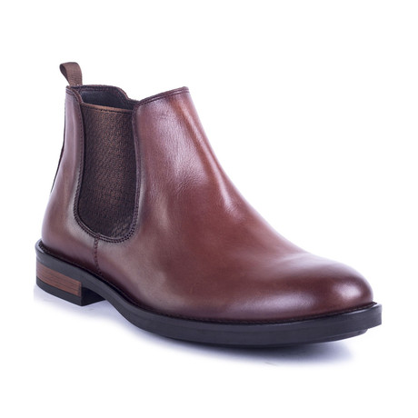 Brechelsea Leather Boot // Brown (Euro: 39)
