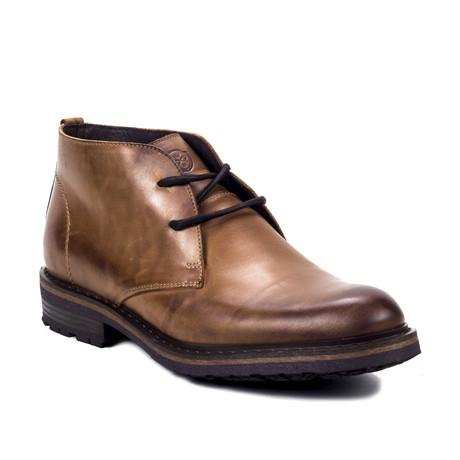 Baka Leather Boot // Cognac (Euro: 39)