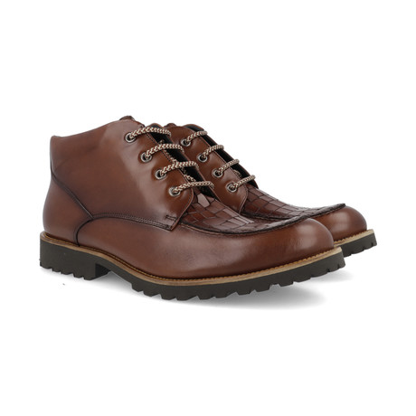Catay Leather Boot // Cognac (Euro: 39)
