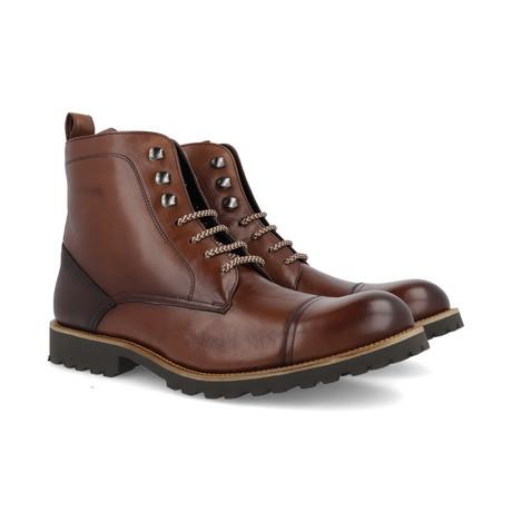 Carpe Leather Boot // Brown (Euro: 39)