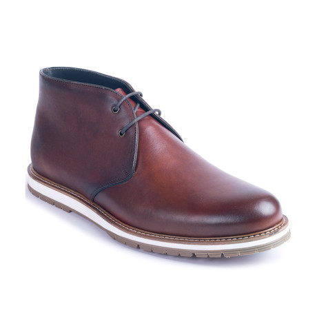 Castelo Leather Boot // Brown (Euro: 39)