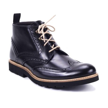 Comin Leather Boot // Black (Euro: 39)