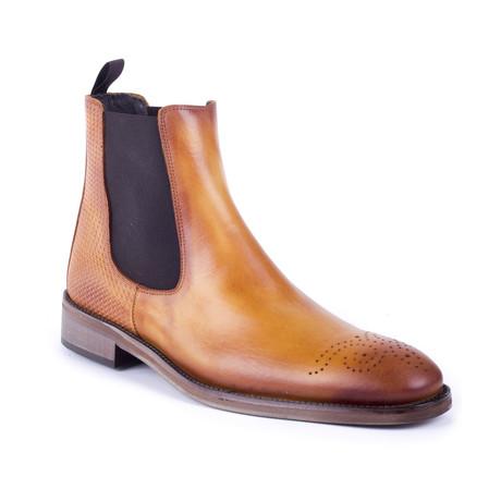 Conato Leather Chelsea Boots // Cognac (Euro: 39)