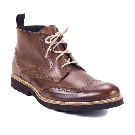 Comin Leather Boot // Cognac (Euro: 39)