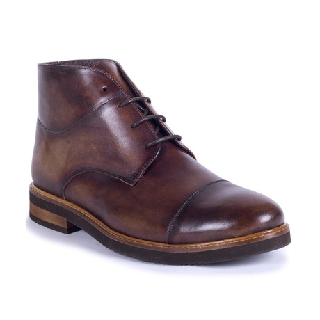 Coloso Leather Boot // Brown (Euro: 39)