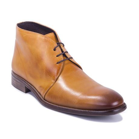 Conil Leather Boot // Cognac (Euro: 39)