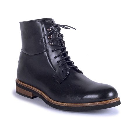 Coyote Leather Boot // Black (Euro: 39)
