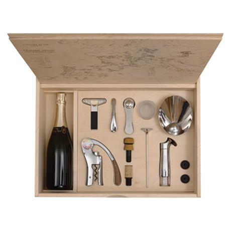 Oeno Box Connoisseur N°1 // Wine Tools Birch Woden Box