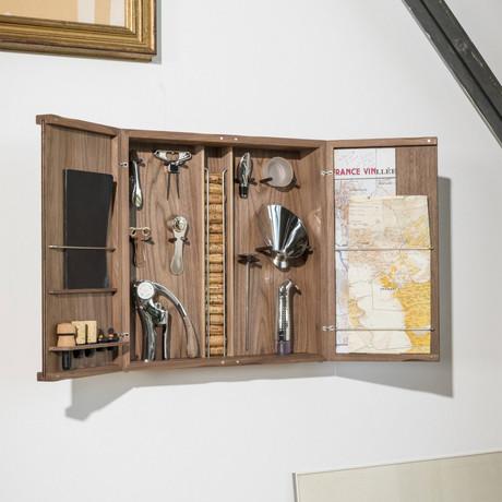 Wine Lovers' Curiosities Cabinet