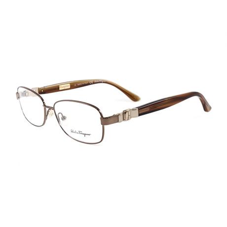 Unisex SF2106-705-53 Optical Frames // Shiny Bronze