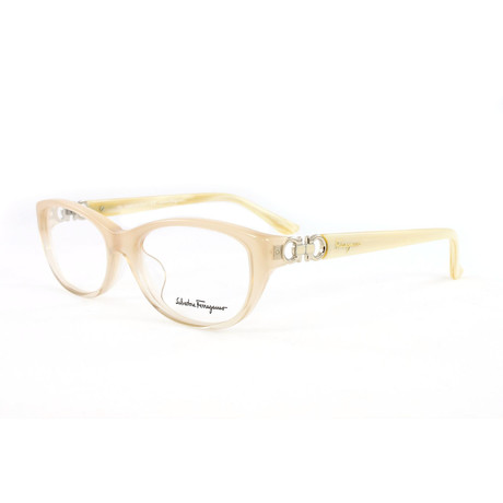 Women's SF2621-264-53 Optical Frames // Beige