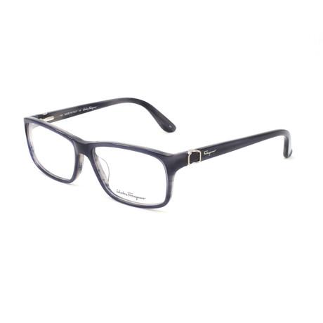 Men's SF2608-423-55 Optical Frames // Blue Horn