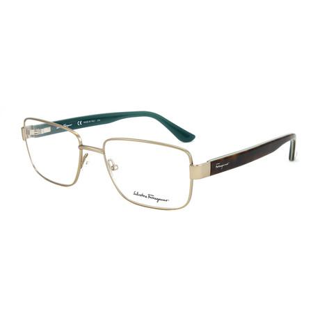 Men's SF2134-202-55 Optical Frames // Matte Brown