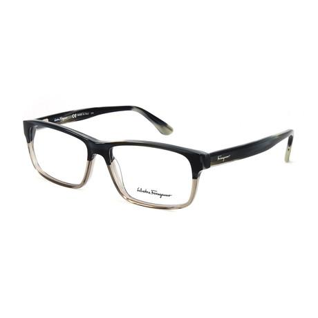 Men's SF2669-466-55 Optical Frames // Blue Gray Horn