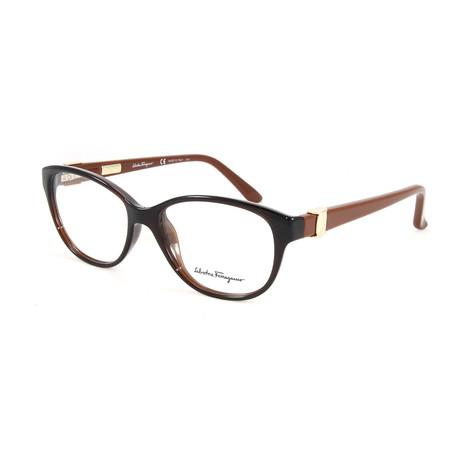 Women's SF2711-210-52 Optical Frames // Brown