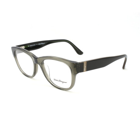 Unisex SF2618-315-50 Optical Frames // Crystal Khaki Green