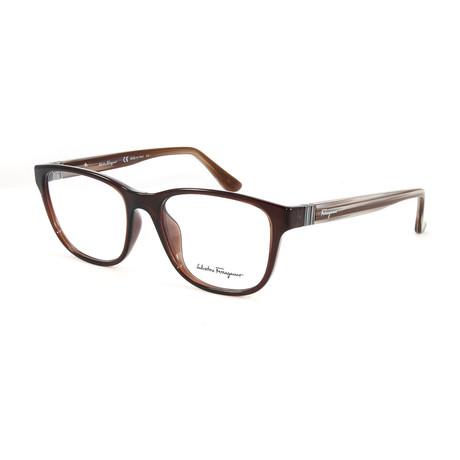 Unisex SF2729-210-54 Optical Frames // Brown