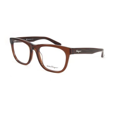 Unisex SF2737-210-54 Optical Frames // Brown