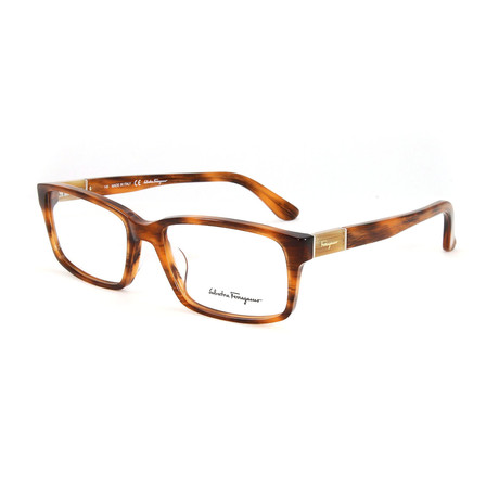 Men's SF2636-225-55 Optical Frames // Rust Horn