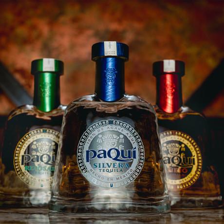 PaQuí Tequila Bundle // Set of 3 // 750 ml